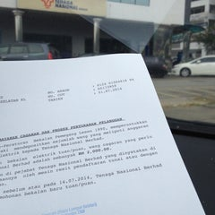 Photo taken at Tenaga Nasional Berhad by Zabri on 7/1/2014