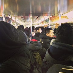Photo taken at MTA Subway - Junction Blvd (7) by Christina L. on 2/2/2015