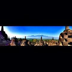 Photo taken at Candi Borobudur (Borobudur Temple) by Natalia on 6/25/2013