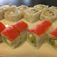 Photo taken at Sushi Express by Phil G. on 1/25/2013