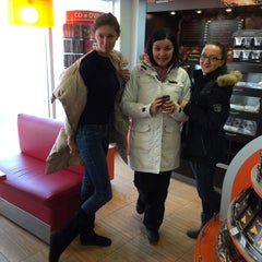 Photo taken at Газпромнефть АЗС № 1 by Anna 🌺 D. on 1/24/2015