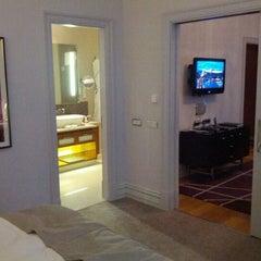 Photo taken at The Mark Luxury Hotel Prague by Александр А. on 1/7/2013