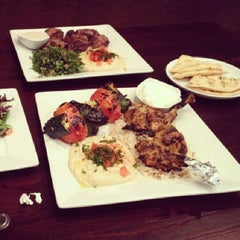 Photo taken at Shish Mediterranean Cuisine - Taste of Istanbul by Mathew J. on 6/9/2013