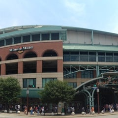 Photo taken at Minute Maid Park by Holly M. on 7/4/2013