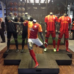 Photo taken at Galatasaray Store by Alphan on 11/6/2013