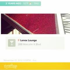 Photo taken at Lenox Lounge by Aparna M. on 11/1/2014