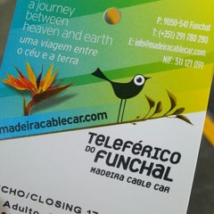 Photo taken at Teleférico do Funchal by Joana S. on 5/27/2013