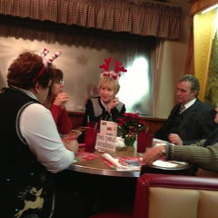 Photo taken at Top's Diner by Kandi on 12/18/2012