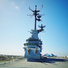 Photo taken at USS Lexington Museum On The Bay by José L. on 6/2/2013
