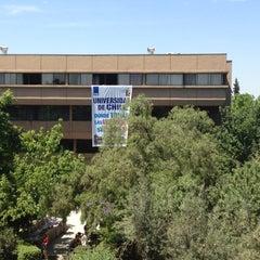 Photo taken at Universidad de Chile - Facultad de Ciencias Sociales by Tomas D. on 11/27/2012