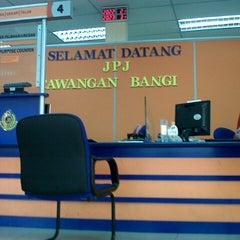 Photo taken at JPJ Bandar Baru Bangi by Ahmad W. on 1/2/2013