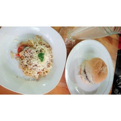 Photo taken at Gaboh Grill Burger by Thatagg M. on 5/2/2015