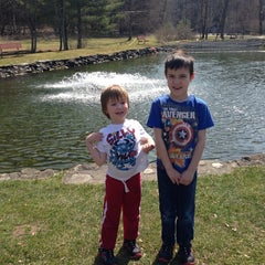 Photo taken at Powder Mills Park by Tricia B. on 4/12/2014