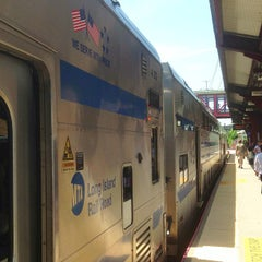 Photo taken at LIRR - Huntington Station by David S. on 6/9/2013