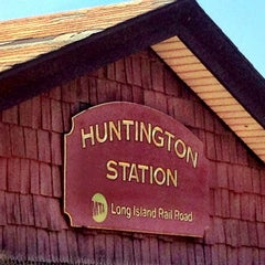 Photo taken at LIRR - Huntington Station by David S. on 6/9/2013