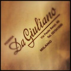Photo taken at Pizzeria Da Giuliano by Gianluca D. on 1/8/2013