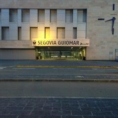 Photo taken at Estación de Segovia-Guiomar by Alfredo R. on 12/25/2012