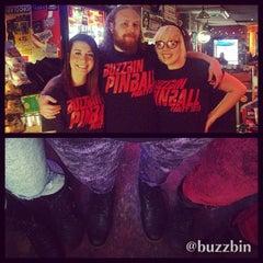 Photo taken at Buzzbin Art & Music Shop by Buzzbin M. on 4/3/2015