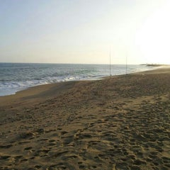Photo taken at Platja de Sant Simó by Pep M. on 11/15/2012