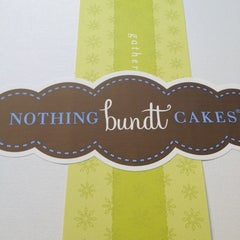 Photo taken at Nothing Bundt Cakes by Terri M. on 3/6/2013