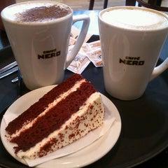 Photo taken at Caffè Nero by Stephanie B. on 4/17/2013