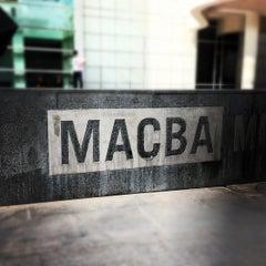 Photo taken at Museu d'Art Contemporani de Barcelona (MACBA) by Edward K. on 10/27/2012