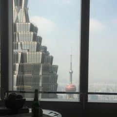 Photo taken at Park Hyatt Shanghai by Kali M. on 9/23/2012