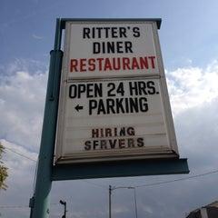Photo taken at Ritter's Diner by Kristen on 10/14/2012