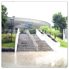 Photo taken at Hougang Central Bus Interchange by Dian on 8/7/2013