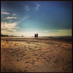 Photo taken at Strand Noordwijk aan Zee by Christian G. on 12/29/2012