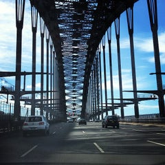 Photo taken at Sydney Harbour Bridge by anostepp on 3/17/2013