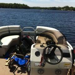 Photo taken at Whitestone Lake by Richard on 6/15/2013