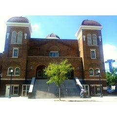 Photo taken at 16th Street Baptist Church by Fallon P. on 7/18/2013