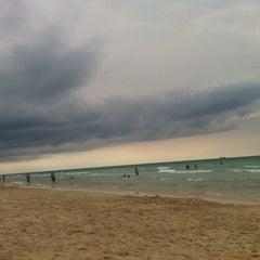 Photo taken at 2nd Street Beach by Alex J. on 5/12/2013