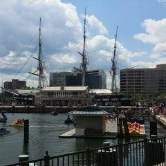Photo taken at Historic Ships in Baltimore by Andrew S. on 5/24/2014