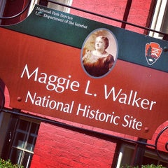 Photo taken at Maggie L Walker National Historic Site by Tim M. on 4/9/2013