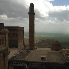 Photo taken at Mardin Ulu Cami by Ayse A. on 3/23/2013
