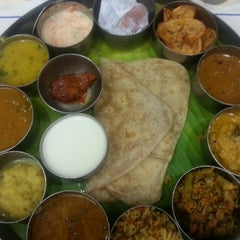 Photo taken at Saravana Bhavan by Arpitha A. on 6/4/2014
