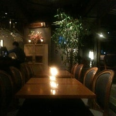 Photo taken at Berlin Cafe & Lounge by Juyon H. on 10/18/2012