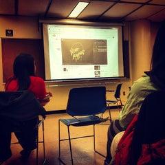Photo taken at Borough of Manhattan Community College (BMCC) by Rafael on 2/14/2013