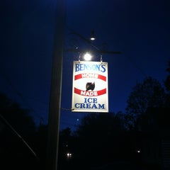 Photo taken at Benson's Ice Cream by Christopher S. on 5/4/2013
