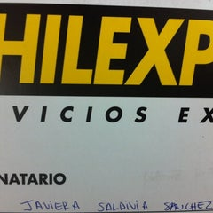 Photo taken at Chilexpress by Gaby S. on 11/29/2012