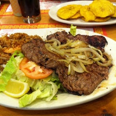 Photo taken at Sabor Latino Seafood Restaurant by Brian B. on 1/19/2013