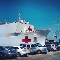 Photo taken at Naval Station San Diego by JB B. on 7/29/2013