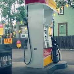 Photo taken at Shell by Chris C. on 9/29/2012