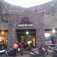 Photo taken at Eiger Adventure Store by M REZA on 4/23/2013