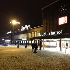Photo taken at Duisburg Hauptbahnhof by Fevzi T. on 1/19/2013