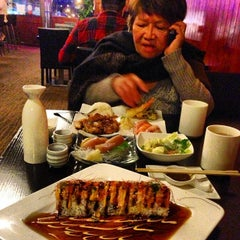 Photo taken at Sushi Raw by Mat R. on 1/4/2014