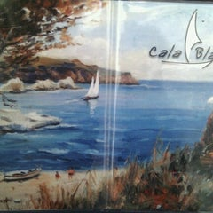 Photo taken at Cala Blanca by Xenia T. on 10/9/2012