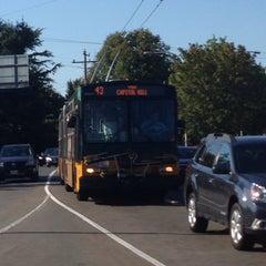 Photo taken at King County Metro Route 43 by alicetiara on 7/16/2014